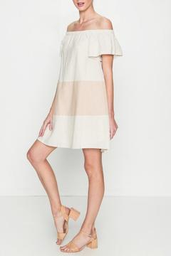 Shoptiques Product: Colorblock Blush Dress