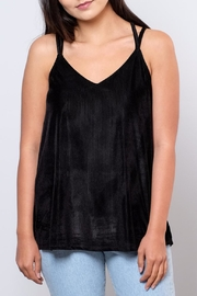 Very J Corduroy Camisole Top - Front cropped