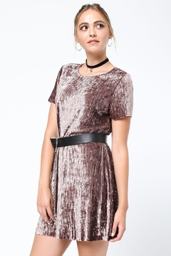 Shoptiques Product: Crushed Velvet Dress