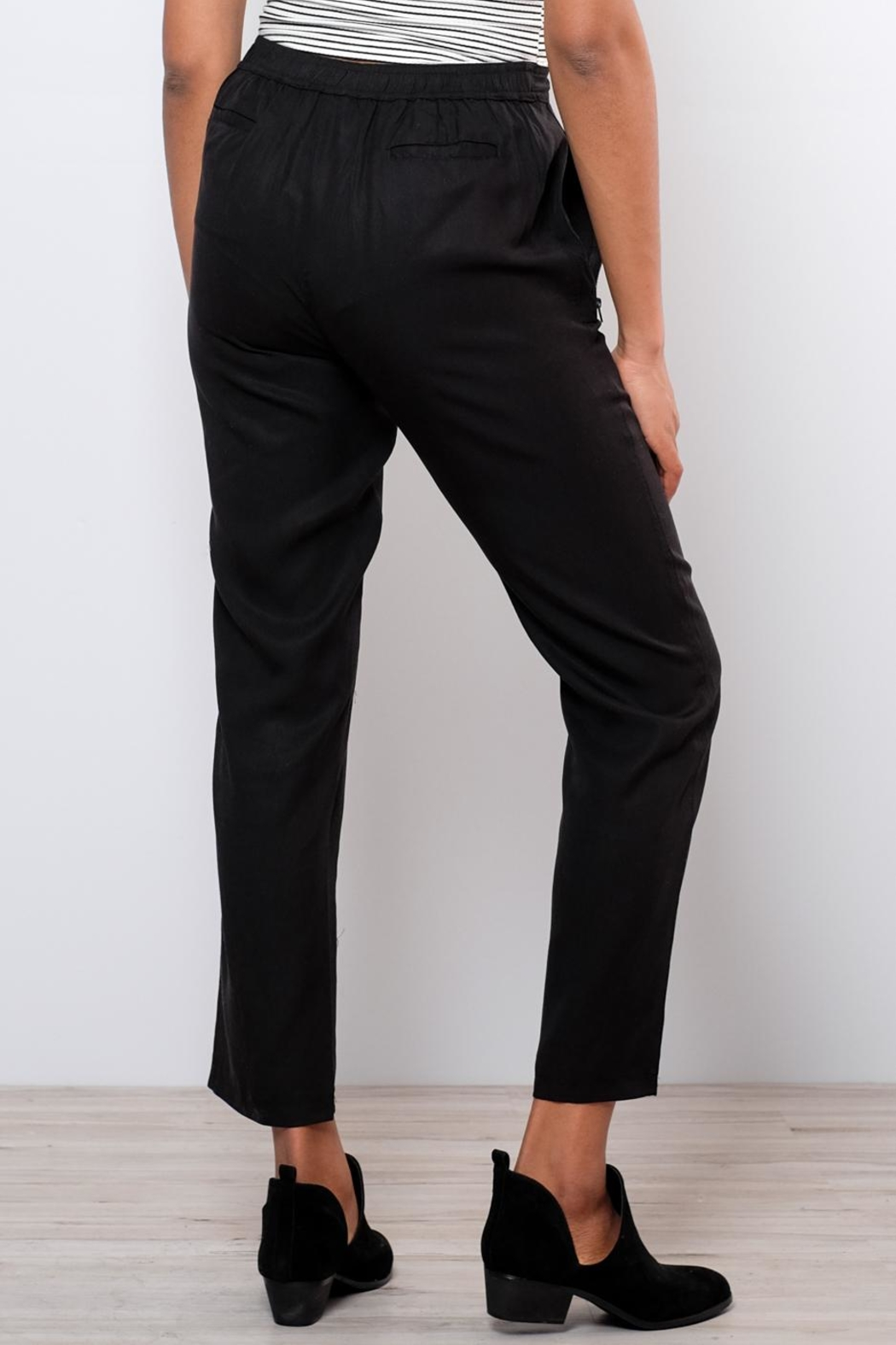 Very J Drawstring Pants - Side Cropped Image