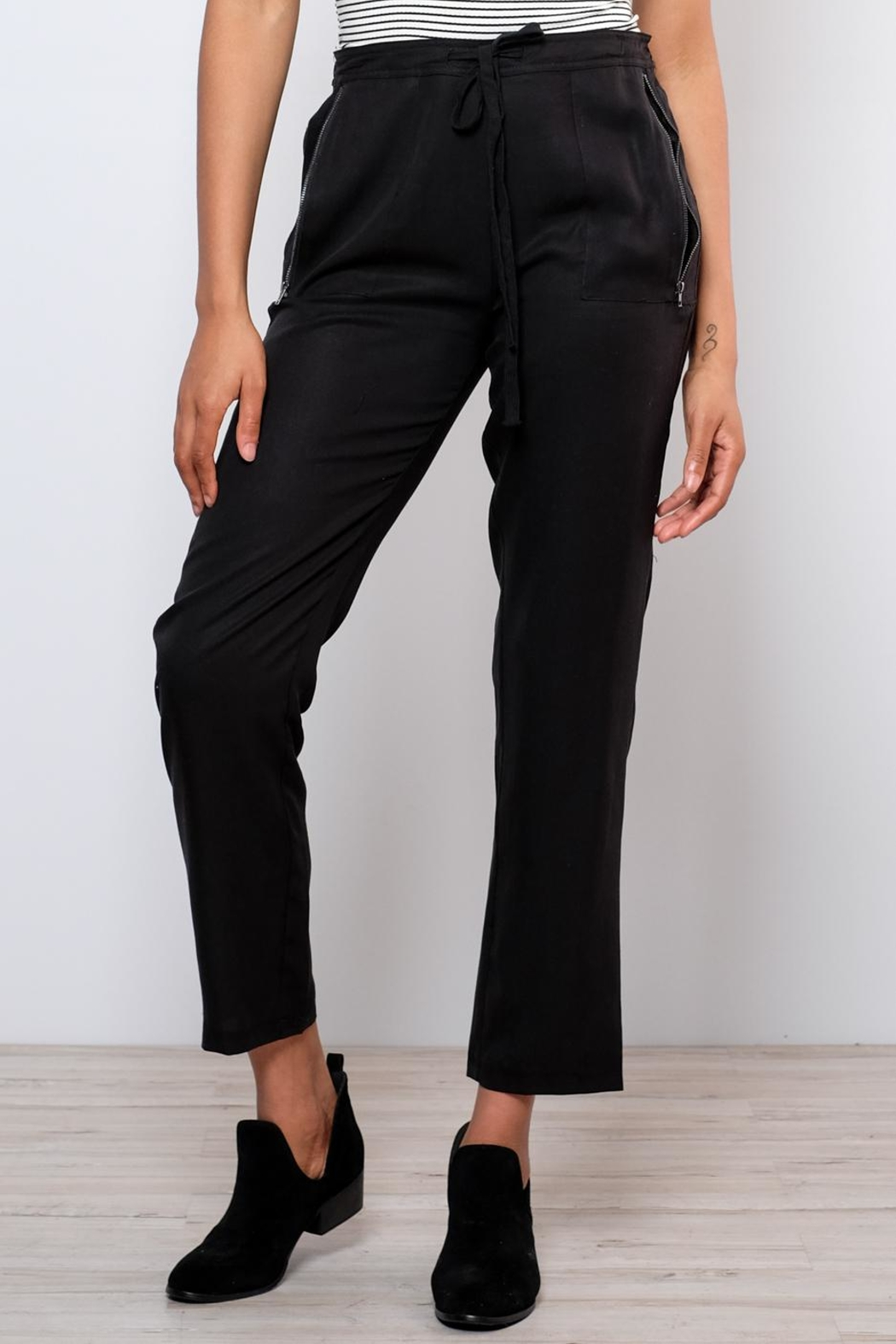 Very J Drawstring Pants - Front Full Image