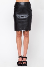 Very J Faux Leather Skirt - Product Mini Image