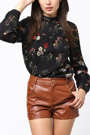 Very J Floral Longsleeve Dress - Product Mini Image