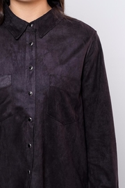 Very J Long Suede Shirt - Other