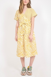 Very J Mixed Print Midi - Product Mini Image
