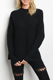Very J Mock Neck Sweater - Product Mini Image