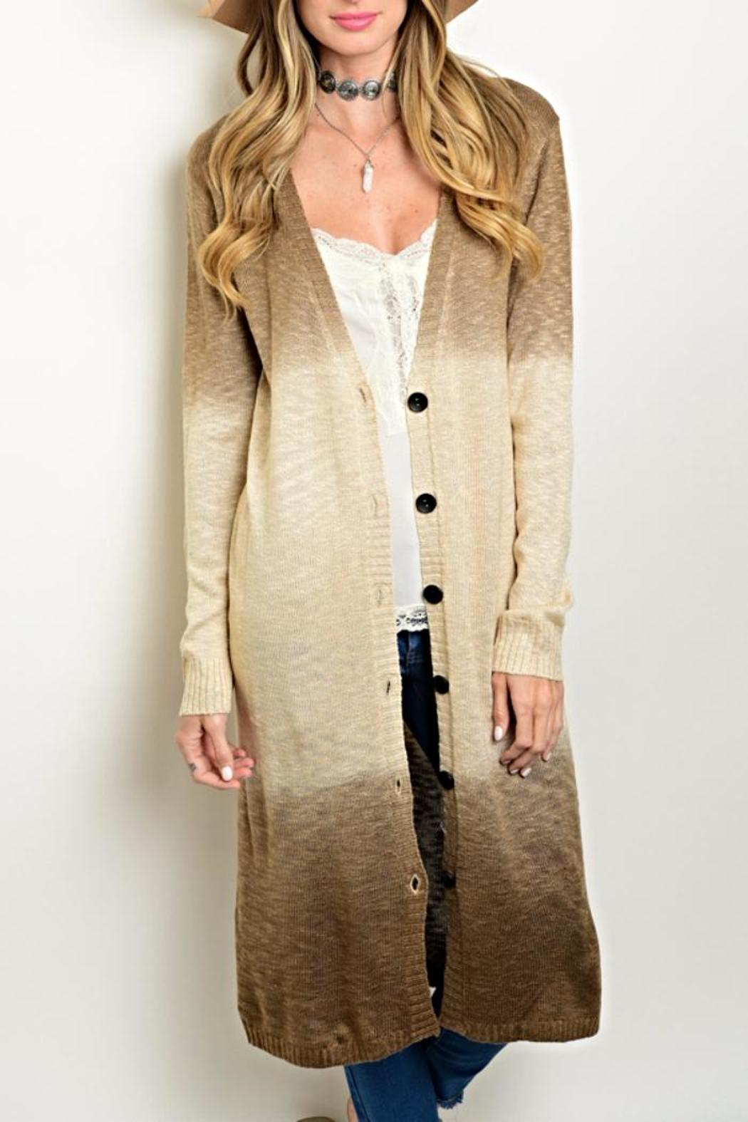 Very J Ombre Duster Cardigan from Kansas by twill tradE — Shoptiques