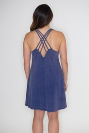 Very J Strappy Back Dress - Side cropped