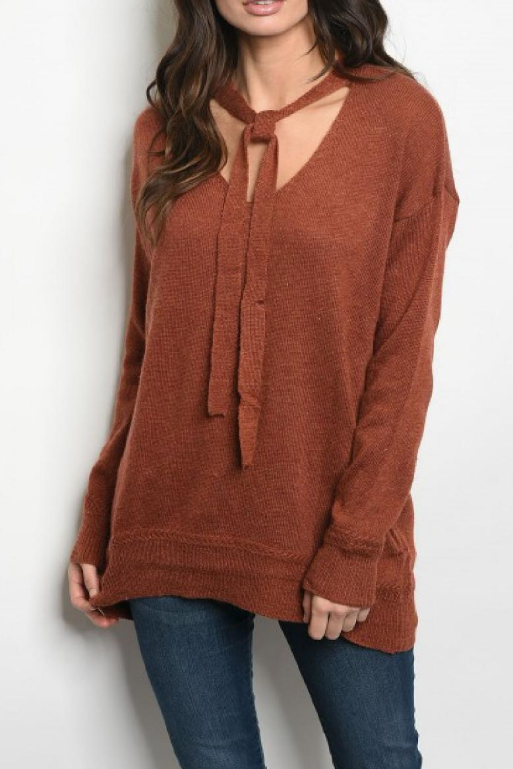 Very J Sweater Tunic - Main Image