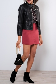 Very J Tailored Miniskirt - Back cropped