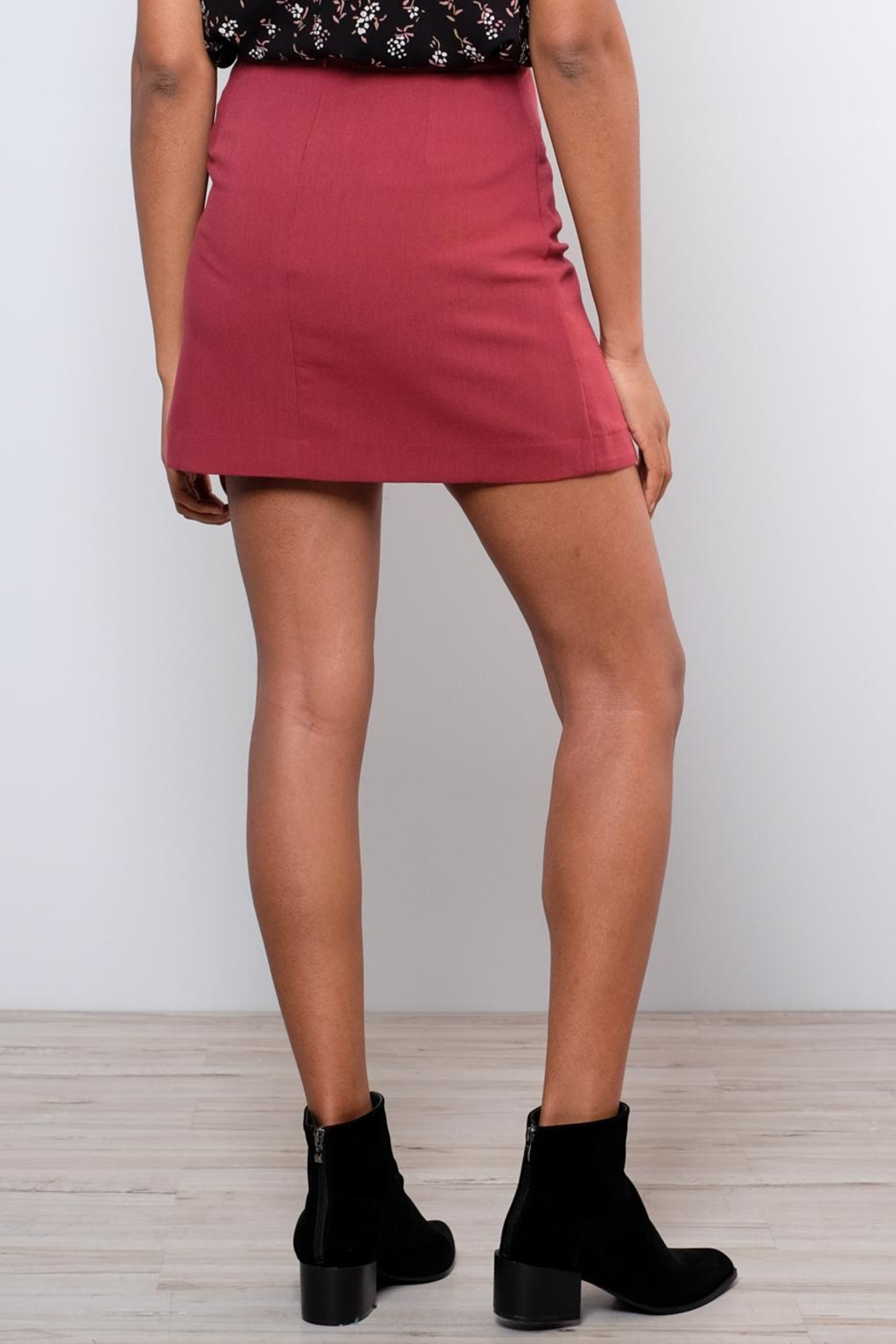 Very J Tailored Miniskirt - Side Cropped Image