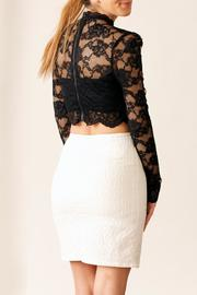 Very J Textured Skirt - Side cropped