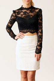 Very J Textured Skirt - Front cropped
