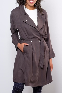Very J Victoria Trench Coat - Product List Image