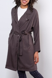 Very J Victoria Trench Coat - Front full body