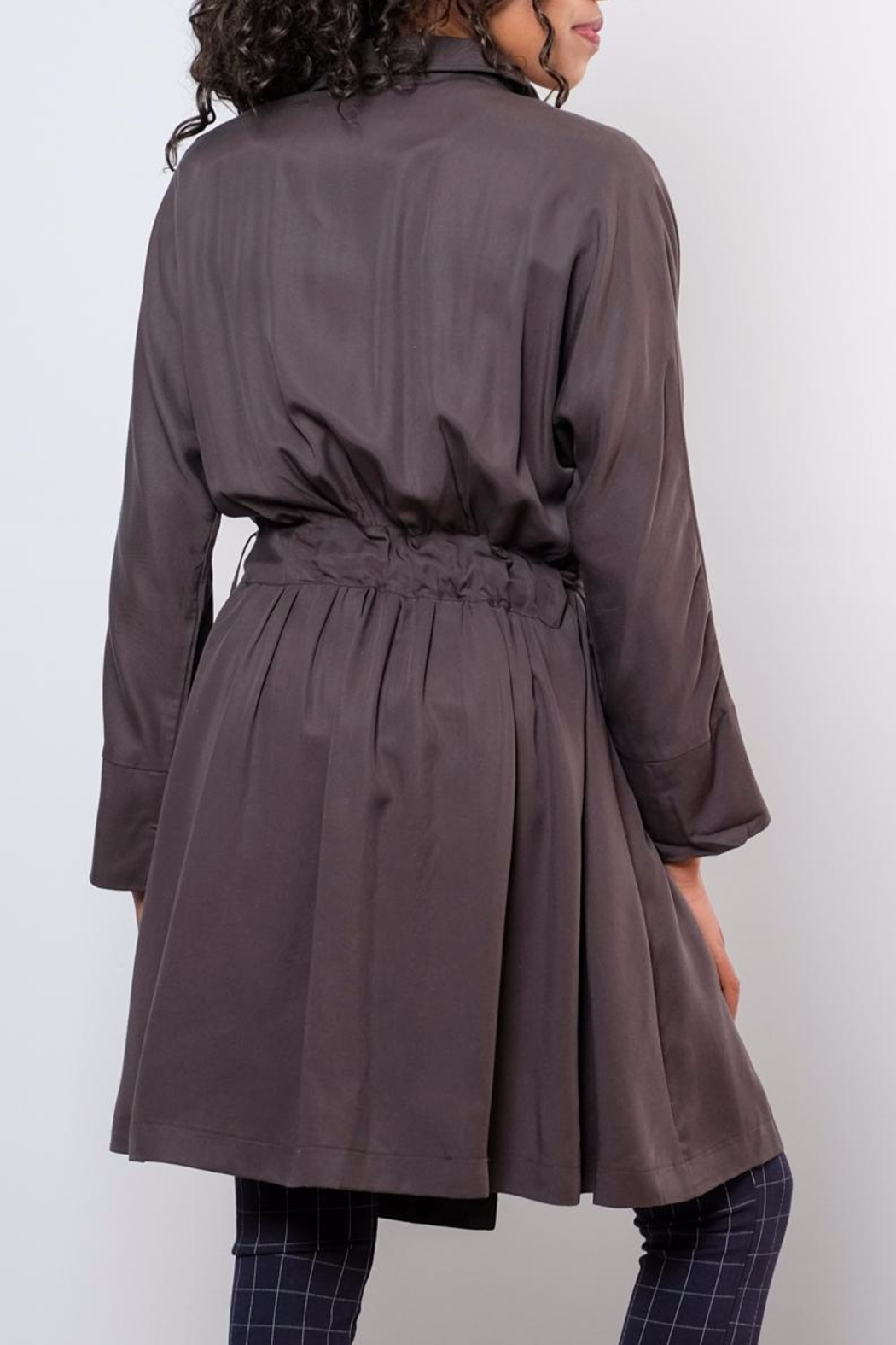 Very J Victoria Trench Coat - Side Cropped Image