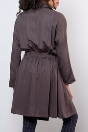 Very J Victoria Trench Coat - Side cropped