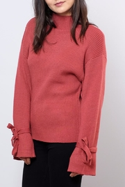Very J Wide Sleeved Sweater - Front full body