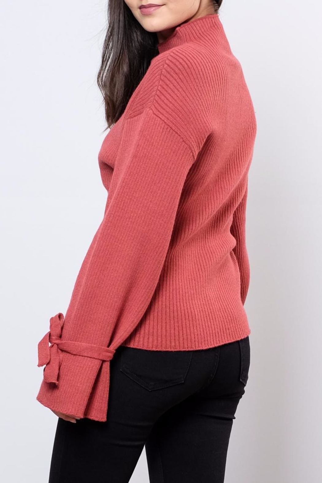 Very J Wide Sleeved Sweater - Side Cropped Image