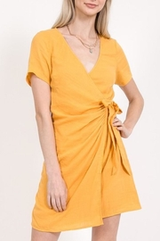 Very J Wrap Dress - Product Mini Image