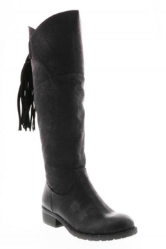 Shoptiques Product: Black Knee-High Boot