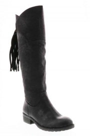 Very Volatile Black Knee-High Boot - Product Mini Image