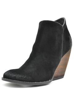Very Volatile Black Suede Booties - Product List Image