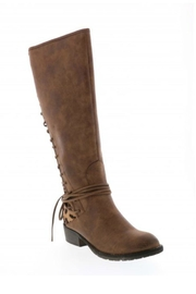 Very Volatile Marcel Riding Boot - Front full body