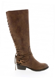 Very Volatile Marcel Riding Boot - Front cropped