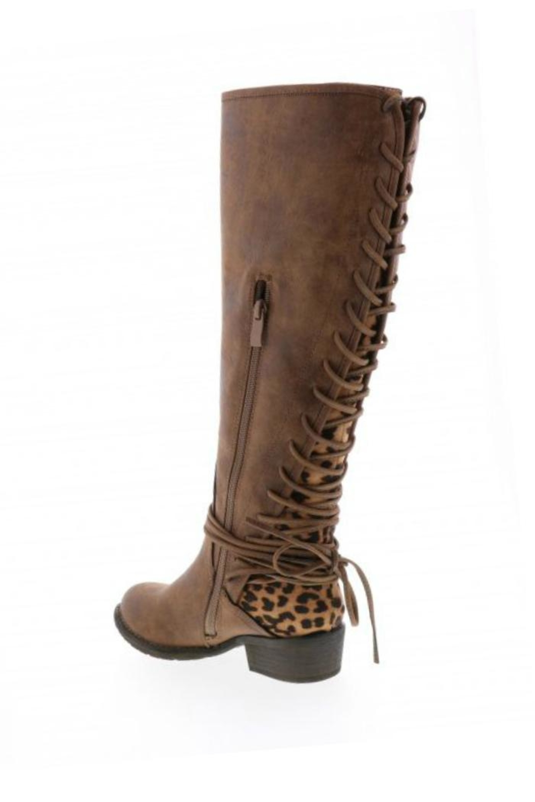 Very Volatile Marcel Riding Boot - Side Cropped Image