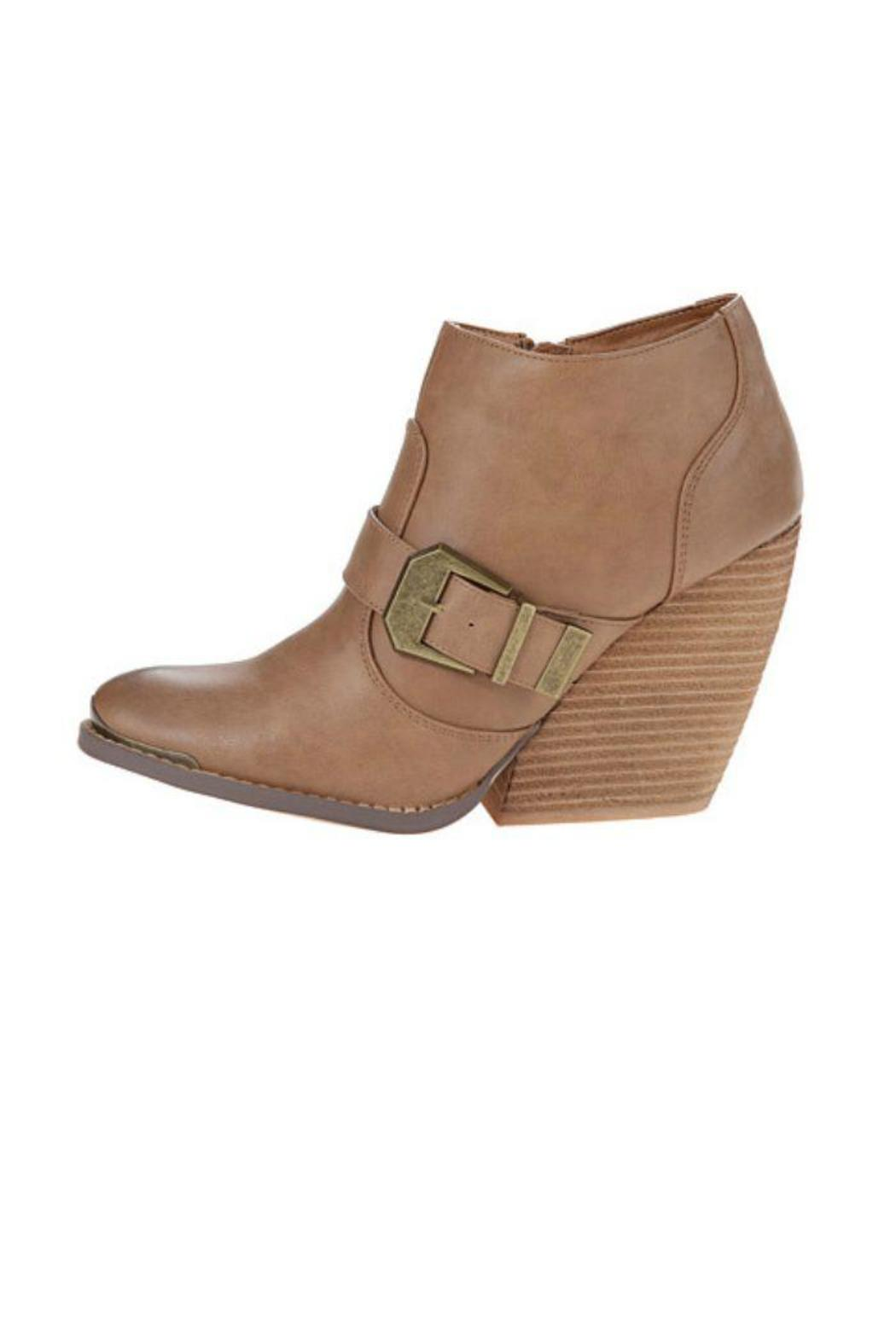 Very Volatile Yorker Bootie - Front Cropped Image