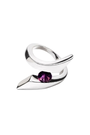 Vessel Amethyst Silver Ring - Product Mini Image