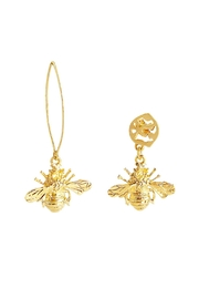 Vessel Asymmetric Bee Earrings - Product Mini Image
