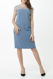 Vesta Blue Silver Alto Dress - Product Mini Image