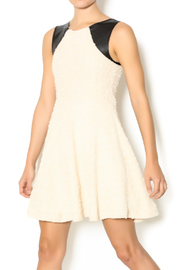 vFish designs Ivory Sparkle Dress - Front cropped