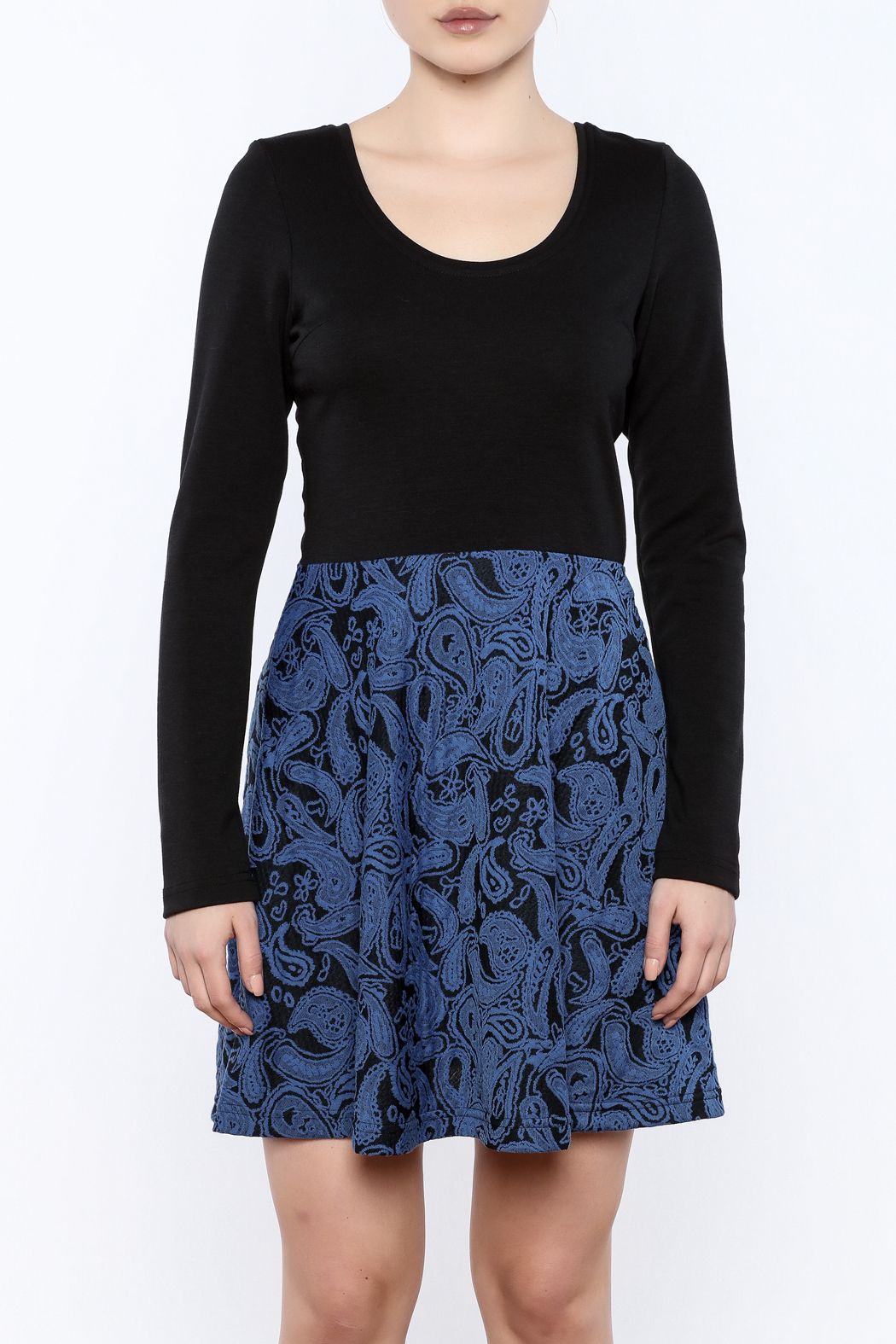 vFish designs Paisley Print Dress - Side Cropped Image