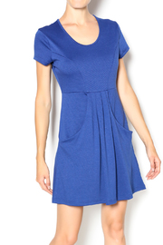 vFish designs Pleated T-Shirt Dress - Product Mini Image