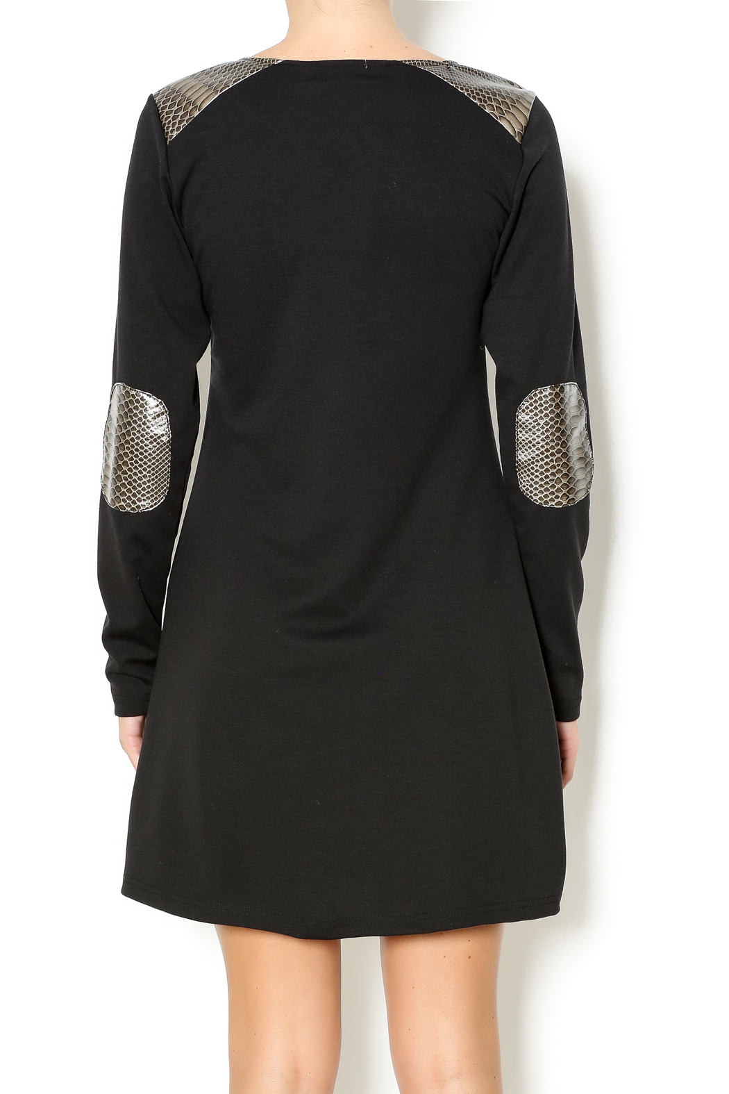 vFish designs Snakeskin Patch Dress - Main Image