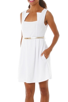 vFish designs Aster White Dress - Product List Image