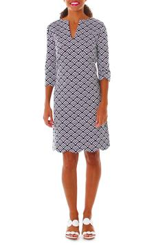 Shoptiques Product: Navy Print Dress