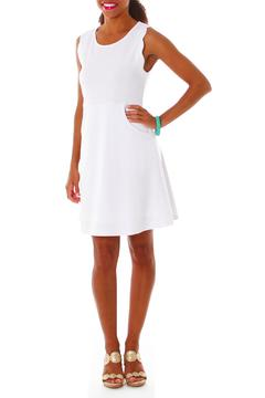 Shoptiques Product: Scalloped Pocket Dress