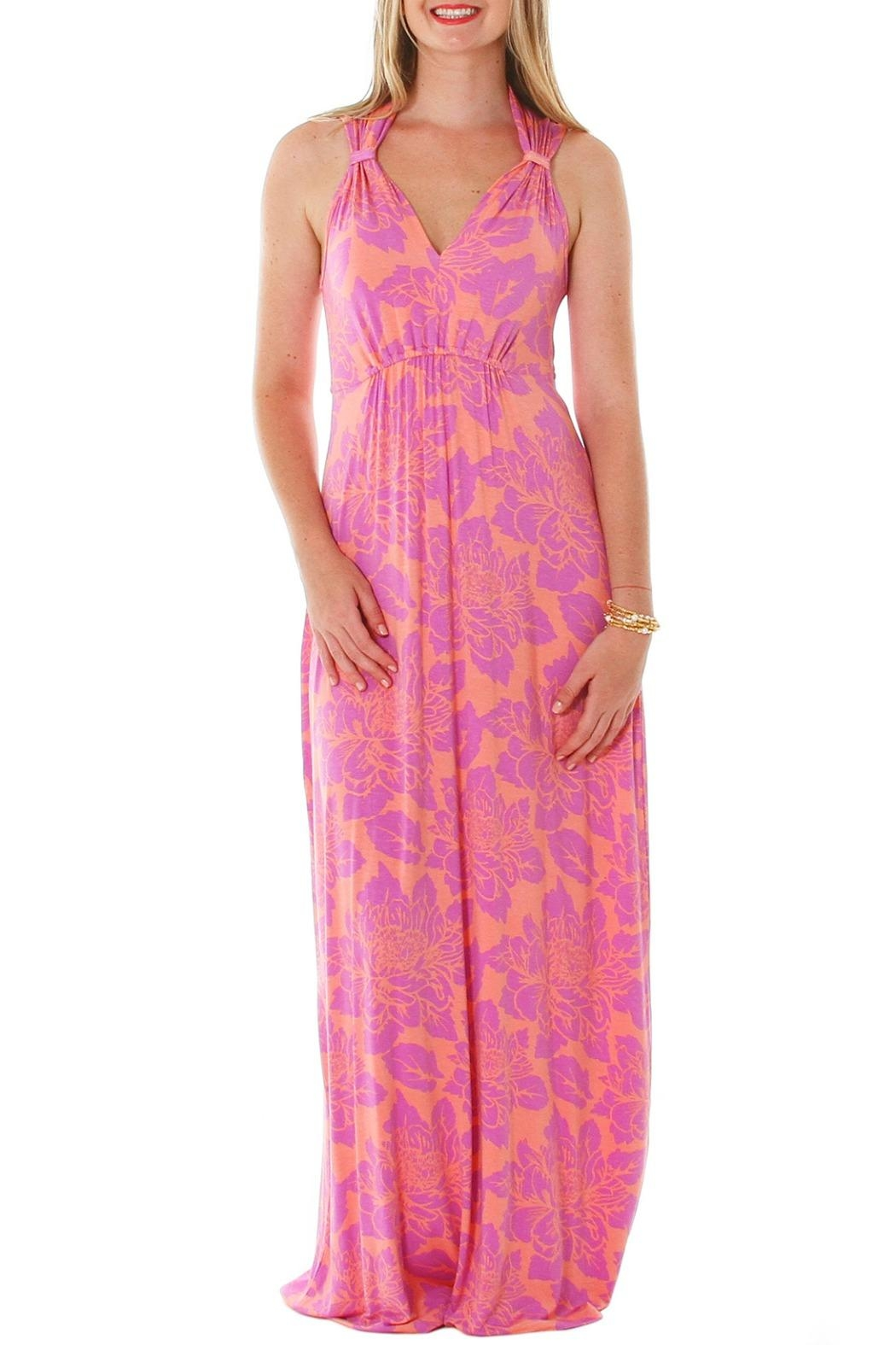 vFish designs Sharon Maxi Dress - Front Cropped Image