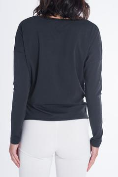 Shoptiques Product: Black Gathered Top