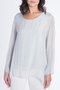 Shoptiques Product: Embroidered Silk Top