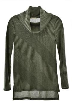 Shoptiques Product: Olive Patterned Top