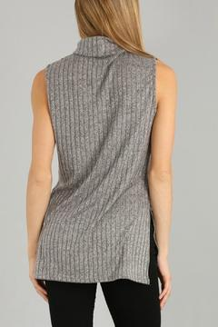Shoptiques Product: Soft Gray Turtleneck