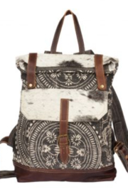 Myra bag  Vibe With Me Cowhide Backpack Bag - Front cropped