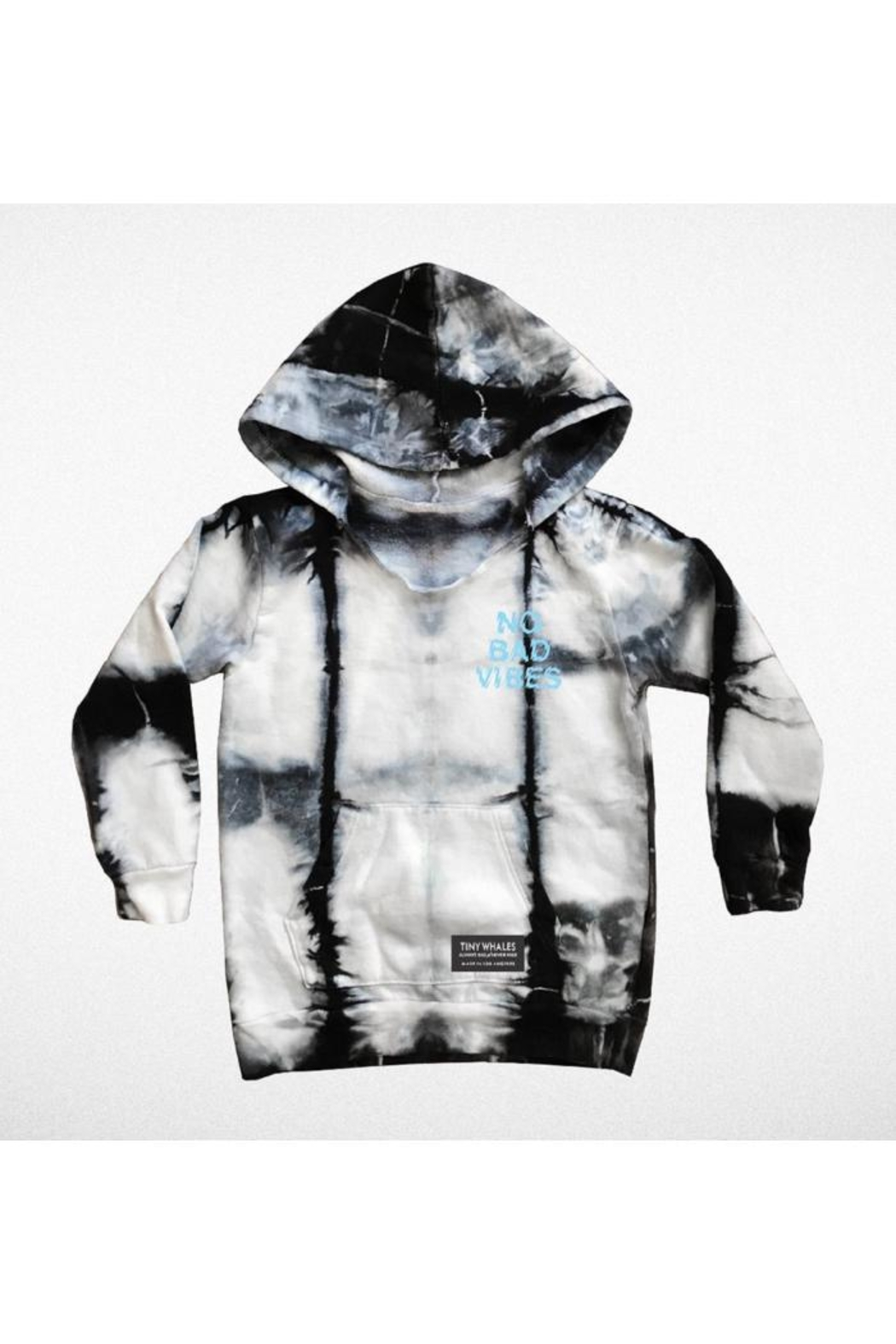 TINY WHALES Vibes Tie-Dye Hoodie - Main Image