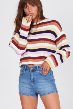 Shoptiques Product: Vibrant Stiped Sweater