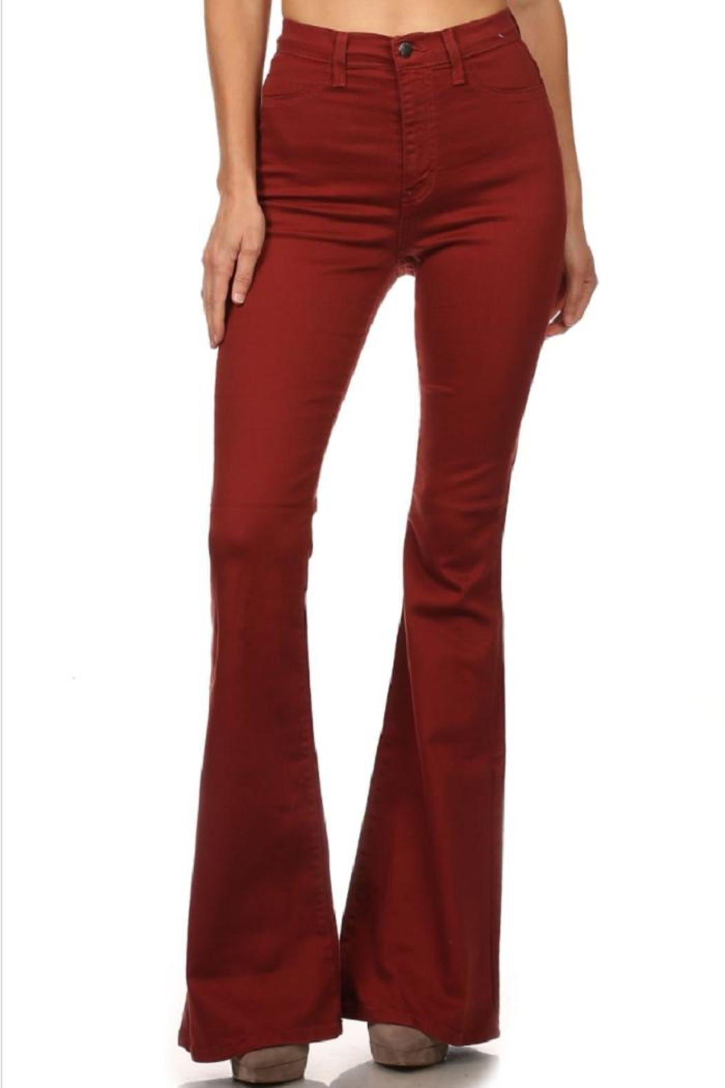 Vibrant Miu Bell Bottom Jeans From Missouri By Domi More
